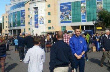 Uma tarde em Stamford Bridge