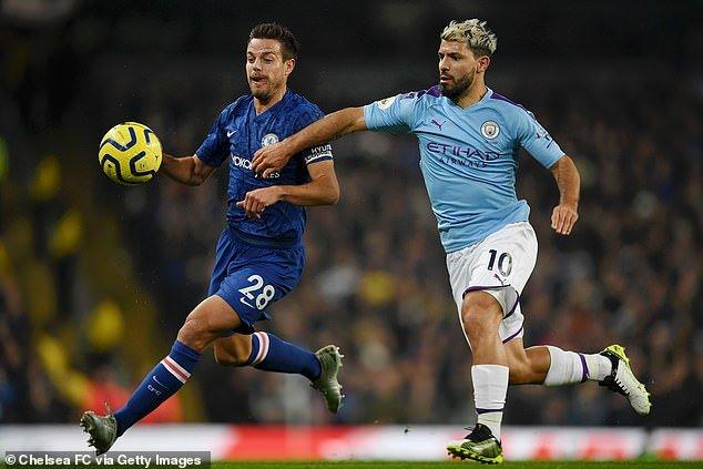 Aguero está na mira do Chelsea